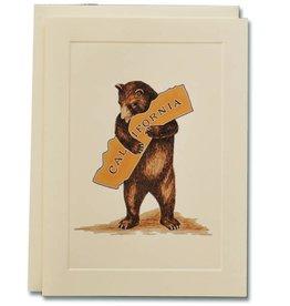 CA Bear Hug Note Card
