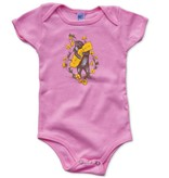 Bear & Poppy Onesie, LightPink