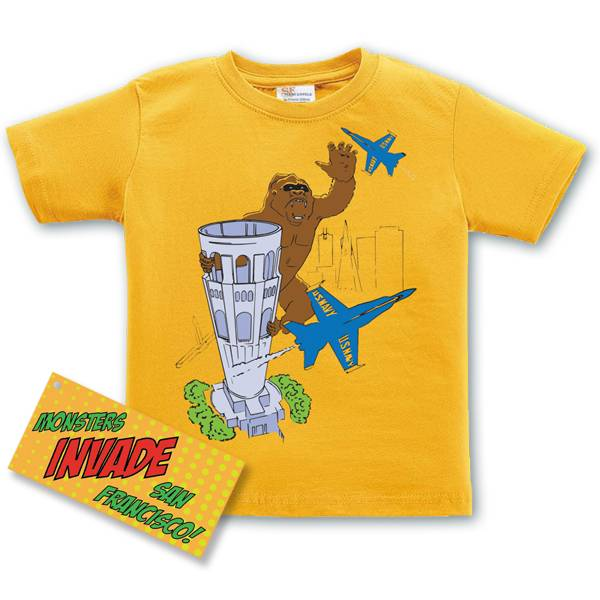 King of Coit Kid's Tee, Gold