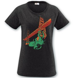 Women's Vintage Octopus/Bridge Tee: DISCONTINUED LIMITED SIZES