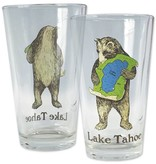 Lake Tahoe Bear Pint Glass