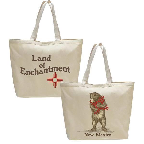 NM Zia Bear Beach Bag/Oversize Tote