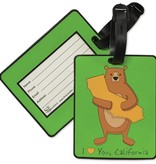 Cali Boy Bear Hug Luggage Tag