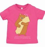 Cali Girl Infant Bear Hug Tee