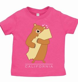 Cali Girl Infant Bear Hug Tee
