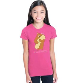 Cali Girl Youth Bear Hug Tee