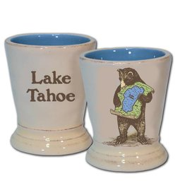 Lake Tahoe Bear Ceramic Shot Glass