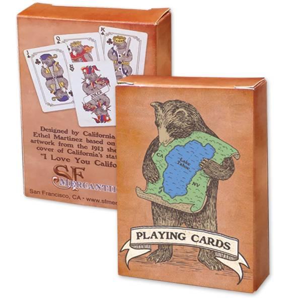 Lake Tahoe Bear Playing Cards