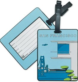 Modern SF PVC Luggage Tag