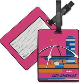 Modern LA PVC Luggage Tag