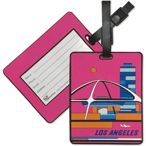 Modern LA PVC Luggage Tag
