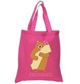Cali Girl Bear Pink Tote