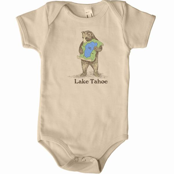 Lake Tahoe Bear Hug Onesie