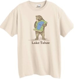 Lake Tahoe Men's Bear Hug Tee