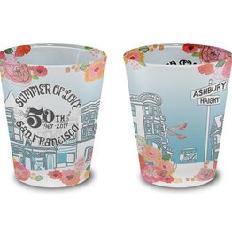 Summer of Love Frosted Shot Glass - 75% OFF
