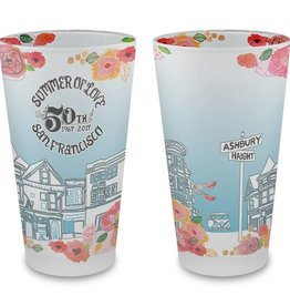 Summer of Love Frosted Pint Glass
