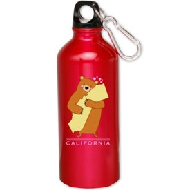 Cali Girl Pink Water Bottle