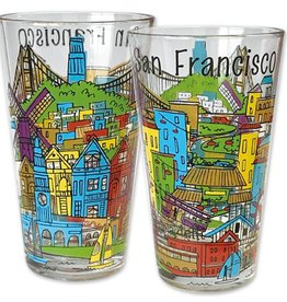 SF Whimsy Pint Glass
