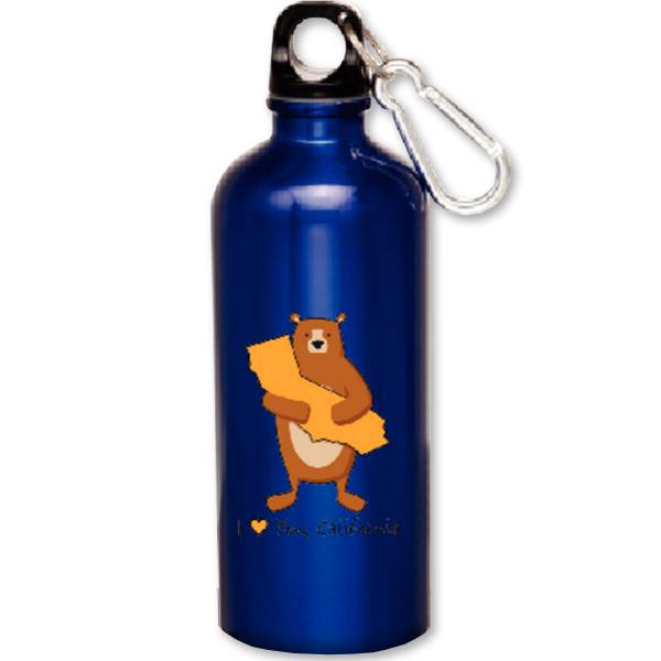 Cali Boy Blue Water Bottle