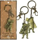 CA Bear Hug Keychain