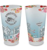 Summer of Love Frosted Pint Glass - 75% OFF