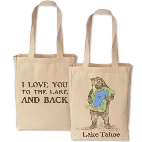 Lake Tahoe Bear Tote