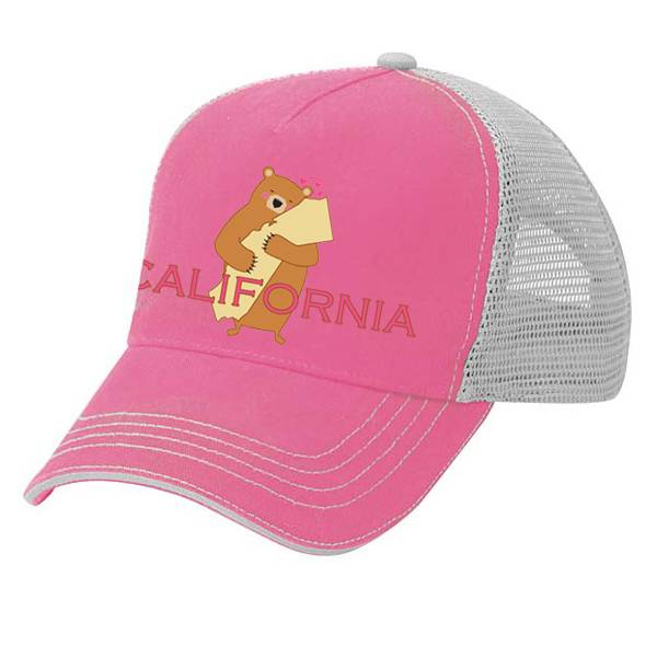 Cali Girl Pink Trucker Hat