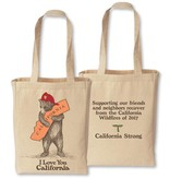 CA Firefighter Bear Tote