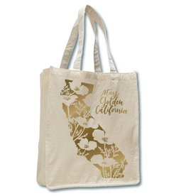 CA Stay Golden, Tote, Natural