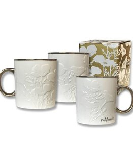 CA White Poppy Mug