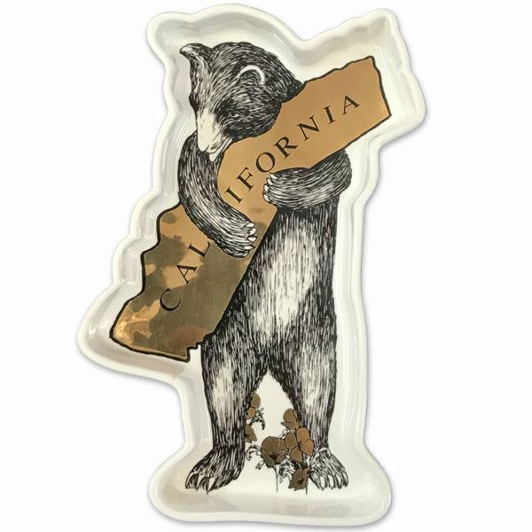CA Bear Hug Metallic Trinket Tray