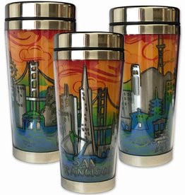 SF Skyline Stainless Steel Travel Mug