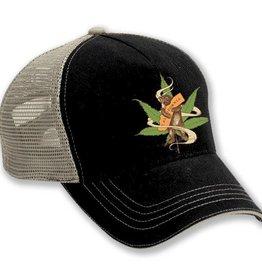 Cannabis Bear Trucker Hat