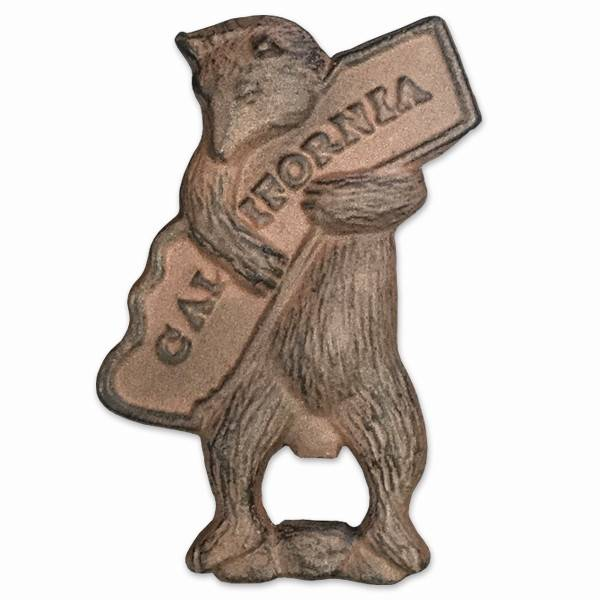 CA Bear Hug Cast Iron Bottle Opener