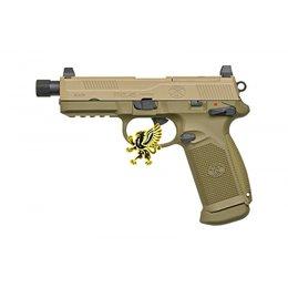 Cybergun Cybergun FNX-45 Tactical Gas Blowback Pistol DE