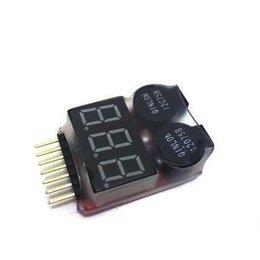 GE Lipo Low Voltage Alarm