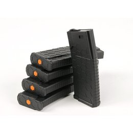 Hexmag HEXMAG 120rds Magazines for M4 AEG Series (5pcs / Pack) - Black