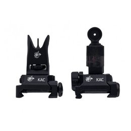 Knights Armament Knight's Armament Airsoft Back Up Iron Sights in Black