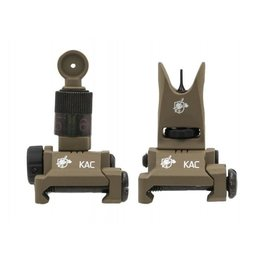 Knights Armament Knight's Armament Airsoft Back Up Iron Sights in Tan