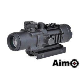 AIM AIM 4X32 IIIumination Tactical Compact Scope - BK