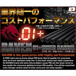 PDI PDI Raven AEG 554mm Inner Barrel (For VSR Pro Chamber)