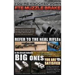 PDI PDI FTE Muzzle  Brake