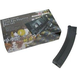 King Arms King Arms MP5 100 rounds magazines Box Set ( 5 pcs )