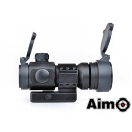 AIM Aim M3 Red/Green Dot With L Shaped Mount - Black