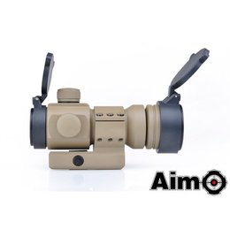 AIM Aim M3 Red/Green Dot With L Shaped Mount - DE