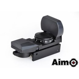 AIM Aim Multi Reticle Red/Green Dot - BK