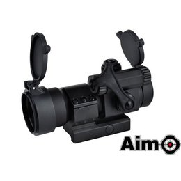 AIM Aim M2 Red/Green Dot With L Shaped Mount Black