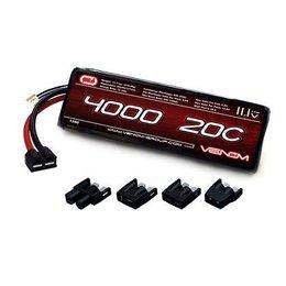 Venom Venom 20C 3S 4000mAh 11.1V LiPo Battery with Universal Plug System
