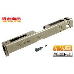 Guarder Guarder 7075 Aluminum CNC Slide for TM G-18C (TAN)
