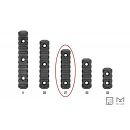 PTS PTS Enhanced Rail Section M-LOK 7 Slot